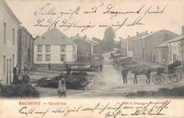 Bagimont Grand Rue Vresse-sur-Semois 1916 - Dinant