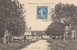 45 /  Varennes  :  Le Champ De Foire     /////   Ref. FEV. 20  ////  BO. 45 - Frankrijk