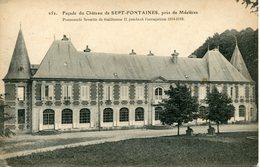 FAGNON. Façade Du Château De SEPT-FONTAINES - Francia