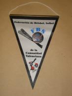 VALENCIANA BASEBALL SOFTBALL FEDERATION - PENNANT FLAG BANNER - VALENCIA - SPAIN - ESPANA - Kleding, Souvenirs & Andere