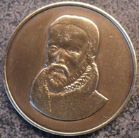 4087 A.M.B.R.E. Vilvoorde Steunpenning William Tyndale Museum 1988 - Gemeentepenningen