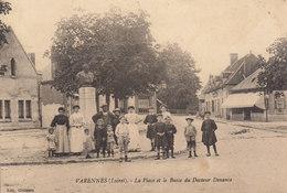 45 /  Varennes  :  La Place      /////   Ref. FEV. 20  ////  BO. 45 - Frankrijk