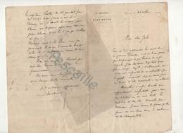 MILITARIA - LETTRE DATEE DE 1915 SUR PAPIER EN-TETE DE LA 3e REGION - ETAT-MAJOR A ROUEN - PERTES MILITAIRES, BALKANS .. - Dokumente