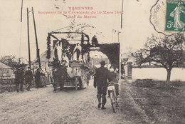 45 /  Varennes  :  Cavalcadee 1907       /////   Ref. FEV. 20  ////  BO. 45 - Frankrijk