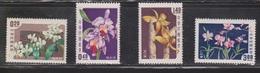 REPUBLIC OF CHINA Scott # 1189-92 MNH - Orchids - 1945-... Republic Of China