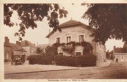 45 /  Varennes  :     Hotel Du Centre     /////   Ref. FEV. 20  ////  BO. 45 - Frankrijk