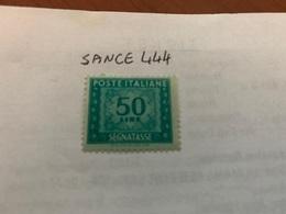 Italy Segnatasse 50L Mnh 1947 - 6. 1946-.. Republic