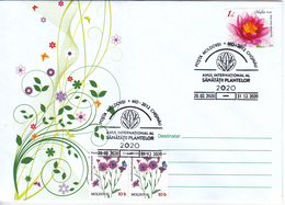 2020 , MOLDOVA , MOLDAVIE  , 2020 As The International Year Of Plant Health , UN , Special Cancell - Moldawien (Moldau)