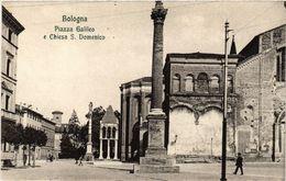 CPA BOLOGNA Piazza Galileo E Chiesa S. Domenico. ITALY (449051) - Bologna