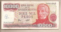 Argentina - Banconota Circolata Da 10.000 Pesos P-306a.2 - 1978 #18 - Argentina