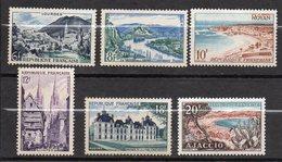 1954--série  Touristique -- NEUFS-- Série  N° 976 à 981  (6 Valeurs) --cote 9,50 € .......à Saisir - France
