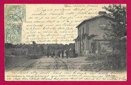 CPA Voulx - La Gare - Otros Municipios