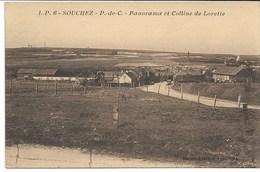 CPA PAS-DE-CALAIS 62 SOUCHEZ Panorama Et Colline De Lorette LP N°6 - France