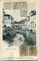 ESPAGNE CARTE POSTALE -CARRERA DEL DARRO DEPART ? 3 NOV 12 POUR LA FRANCE - Cartas