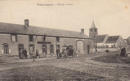 45 /    Villevoques : Café De La Place        /////   Ref. FEV. 20  ////  BO. 45 - Frankrijk