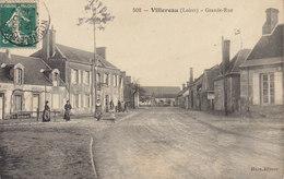 45 /    Villereau : Grande Rue        /////   Ref. FEV. 20  ////  BO. 45 - Frankrijk