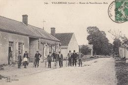 45 /    Villereau :  Route De Neuville Aux Bois         /////   Ref. FEV. 20  ////  BO. 45 - Frankrijk