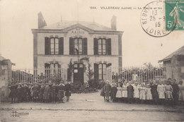 45 /    Villereau :   La Mairie Et Les écoles          /////   Ref. FEV. 20  ////  BO. 45 - Frankrijk