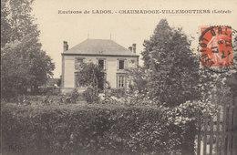 45 /    Villemoutiers  :  Chaumadoge           /////   Ref. FEV. 20  ////  BO. 45 - Frankrijk