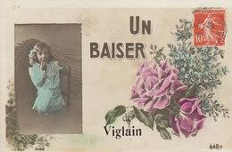 45 /    Viglain   :  Un Baiser De ..          /////   Ref. FEV. 20  ////  BO. 45 - Frankrijk