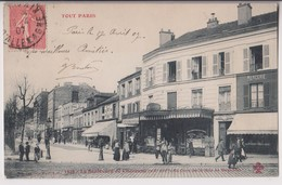PARIS 20 ème : BOULEVARD DE CHARONNE AU COIN DE LA RUE DE BAGNOLET - ECRITE EN 1907 - 2 SCANS - - Arrondissement: 20
