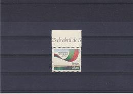 PORTUGAL 1984 25 AVRIL Yvert 1608 NEUF** MNH - 1910-... Republik