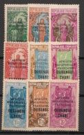 Oubangui - 1927-33 - N°Yv. 75 à 83 - Série Complète - Neuf Luxe ** / MNH / Postfrisch - Oubangui (1915-1936)