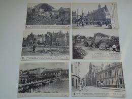Beau Lot De 20 Cartes Postales De France  Ruines  Guerre 1914 - 1918     Mooi Lot Van 20 Postkaarten Ruinen  Oorlog - 5 - 99 Postkaarten