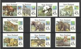 NEW ZEALAND  1994   ANIMALS   SET - Non Classés