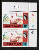 BAHAMAS  Scott # 322** VF MINT NH CORNER PAIR W/LIGHT CREASE (Stamp Scan # 596) - 1963-1973 Ministerial Government
