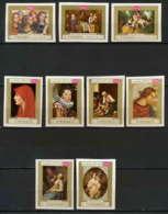 088aa - Yemen Kingdom - MNH ** Mi  N° 717 / 725 B Tableau (tableaux Paintings) Non Dentelé (imperforate) Rubens Murillo - Yémen