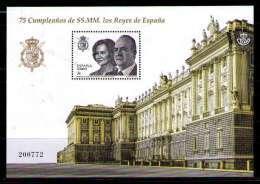 ESPAÑA 2013 - 75 CUMPLEAÑOS DE SS.MM. LOS REYES DE ESPAÑA - BLOCK  - EDIFIL Nº 4829 - 1931-Hoy: 2ª República - ... Juan Carlos I