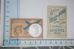 Chromos Savon étoile Du Nord Louis Pitz Anvers Timbre Monnaie Drapeau N° 75 Indes Néerlandaises - Altri