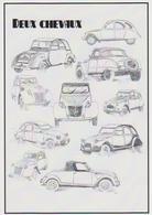 CARTE POSTALE AUTOMOBILE CITROEN 2 CV DEUX CHEVAUX - PKW
