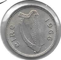 *ireland  3 Pence   1966  Km 12a    Xf+ - Irlanda