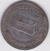 Jeton - Token - DIFFERDINGEN - DIFFERDANGE - LUXEMBOURG - Notgeld