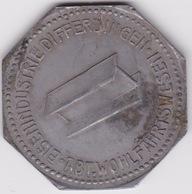 Jeton - Token - DIFFERDINGEN - DIFFERDANGE - LUXEMBOURG - Monétaires / De Nécessité