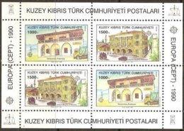 Cept 1990 Chypre Turc Turks Cyprus Bloc 8 *** MNH Cote 17,50 Euro Europa - Neufs