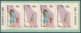 CEPT 1989 Chypre Cyprus Yvertn° C 228 *** MNH Carnet  Cote  14.00 Euro - Chypre (Turquie)