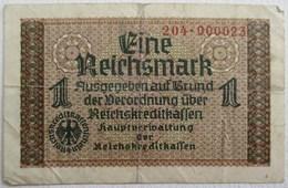 BILLET 1 EINE REICHSMARK ALLEMAGNE 1938 - Sonstige