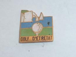 Pin's GOLF D ETRETAT - Golf