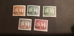 Kouang Tcheou Yvert 125-126+127-129** - Unused Stamps