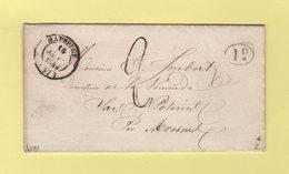 Maubeuge - 57 - Nord - 15 Janv 1845 - 1801-1848: Précurseurs XIX