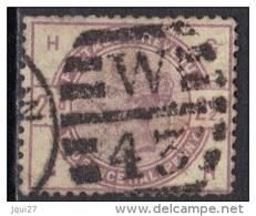 Grande-Bretagne N° 79 Oblitération W 43 - Used Stamps