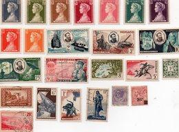 Monaco - Petit Lot De 24 Timbres Anciens Francs ( Neufs Et Oblitérés) - Lots & Serien