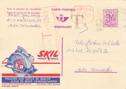 B11 - Entier Postal - Carte Publibel N° 2589 FN -  Skil Power Tools + 0,50c P010 Malines - Taxe P2231 -  - Voir Photo Po - Publibels