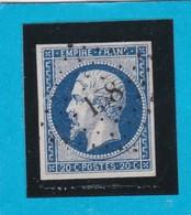 N° 14A    PC  158   AUBENAS   ( 06 )  ARDECHE  - REF 14615 + Variété - 1853-1860 Napoleon III
