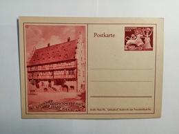 Deutsches Reich  Postkarte Das Deutsche Golschmiedehaus - Germania