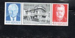 """Monaco -  Triptyque """" Office Des Emissions De Timbres Poste """"  Neuf - Ungebraucht"""