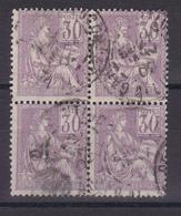 D116/ N° 115 BLOC DE 4 OBL COTE 26€ - France